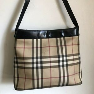 BURBERRY Vintage Medium Plaid Tote
